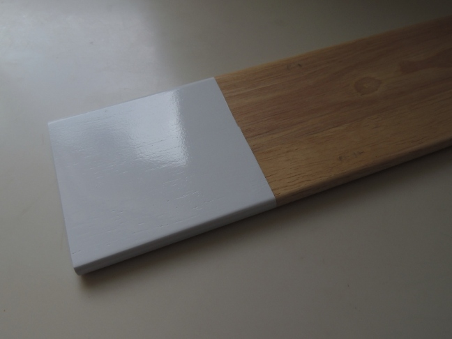 Kitchen Cabinet Paint Test Sample